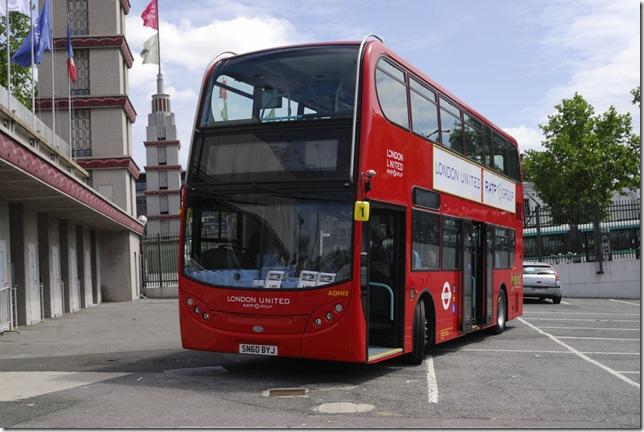 Autobus de dos plantas, un concepto que resultó muy rentable.