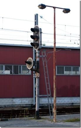 Semáforo de la estación Vigo-Urzaiz