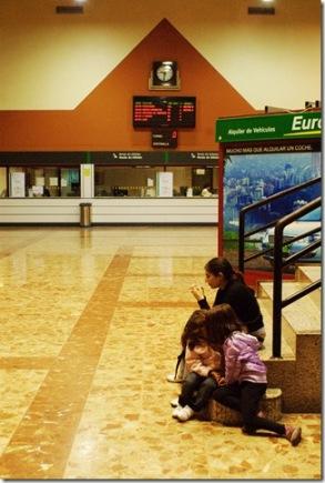 Hall de la estación