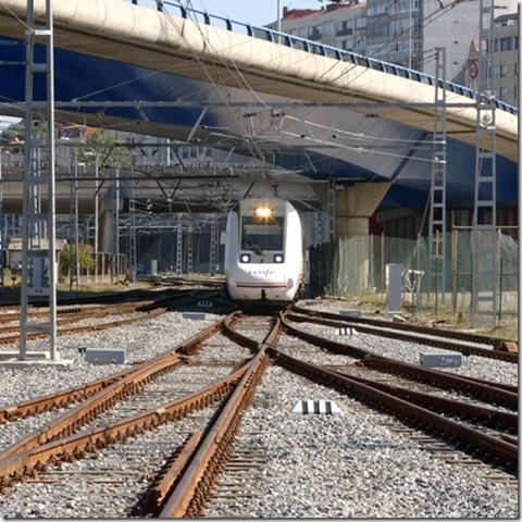R599 entrando en Vigo Guixar