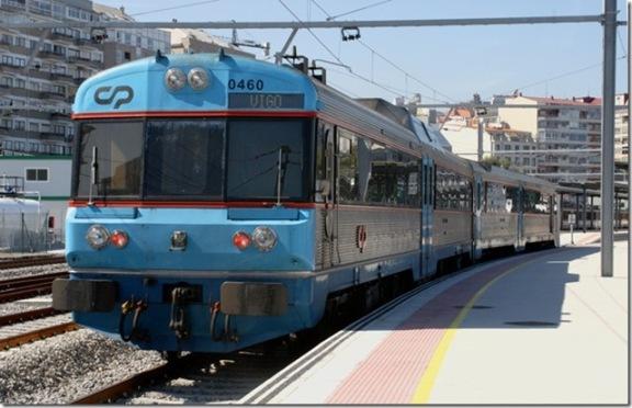 Tren internacional Vigo Guixar