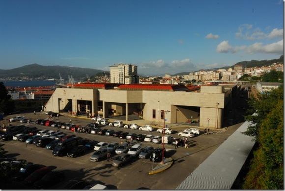 Antigua estación de Vigo-Urzaiz