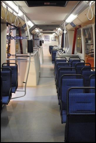 Interior del Phileas VDL