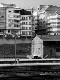 Vista de otros edificios de la estación
